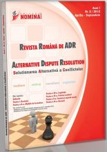 Revista Romana de ADR (Alternative Dispute Resolution) nr. 2/2012