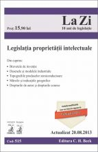 Legislatia proprietatii intelectuale | Actualizare: 20.08.2013